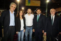Francisco Santodomingo Pamela Malewicz Adrían Vareal Antonio Rodríguez Miranda y José Mira Lema