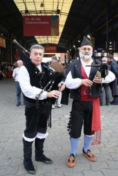 Gaiteros gallego y asturiano