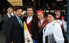 Expo colectividades en Buenos Aires