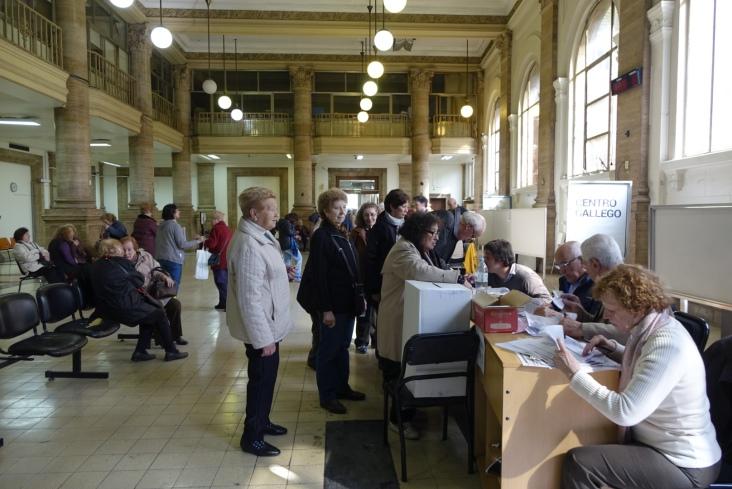 Votación Elecciones Centro Gallego 8
