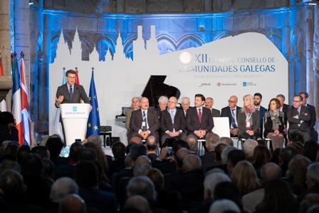 Blog Feijóo en el Pleno del Consello de comunidades galegas